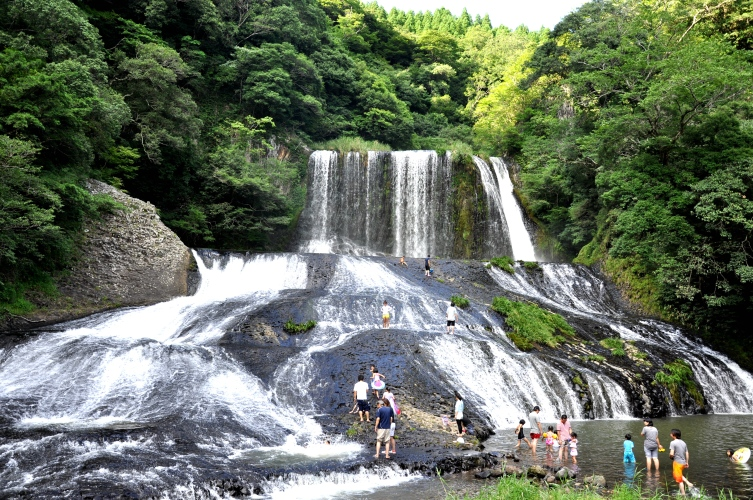 Ryumon no taki Waterfall Kokonoe Oita Japan