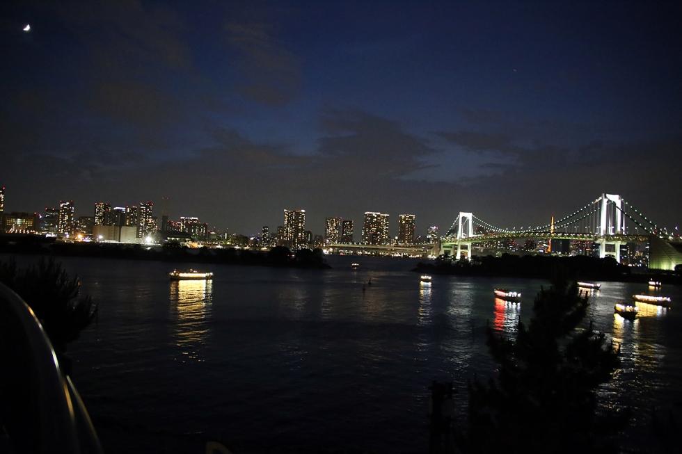 Rainbow, Bridge, Tokyo, Japan
