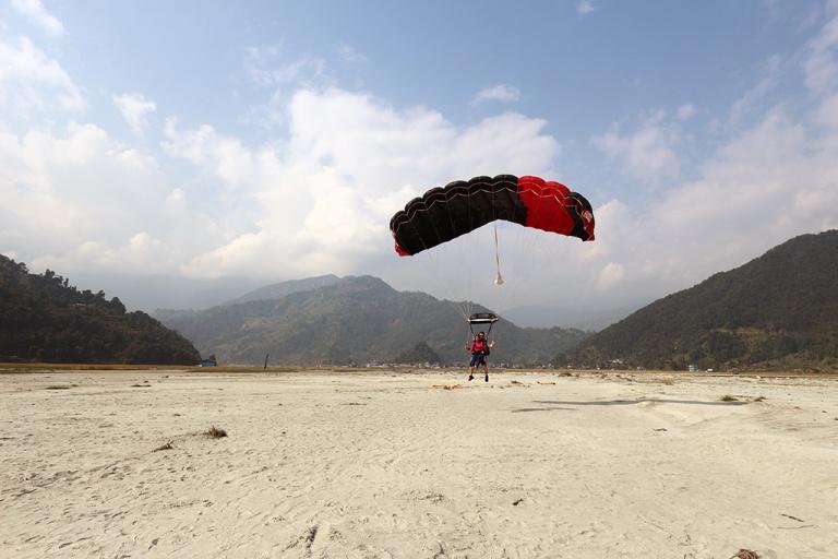 Pokhara Skydive Tandem Jump Pame Nepal